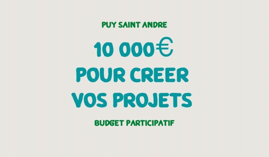 Budget Participatif Puy Saint André